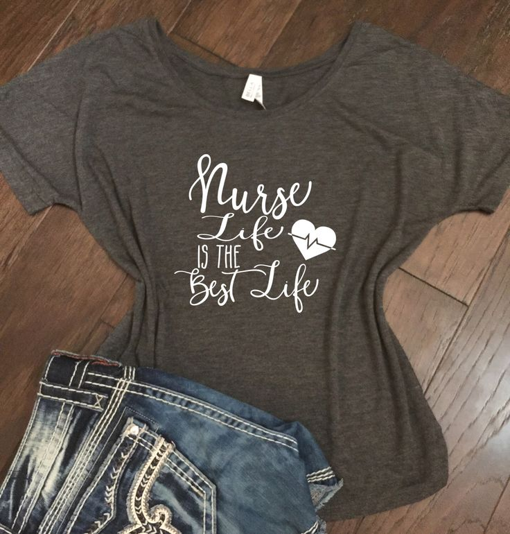 Nurse Life is the Best Life- Bella Canvas Racer back tank - Nurse Shirt, Gift for Nurse, Funny Nurse Shirt, Doctor shirt, Nurse by JLawCreations on Etsy https://www.etsy.com/listing/471385152/nurse-life-is-the-best-life-bella-canvas