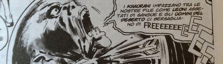 When the words are very powerful they can come out from the baloon --------- quando le parole sono particolarmente forti possono uscire dal baloon --------- Conan (John Buscema) #comics #fumetto #conanthebarbarian
