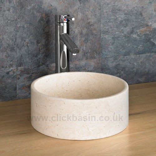 ... Padua Galala Natural Limestone Bathroom Sink www.clickbasin.co.uk