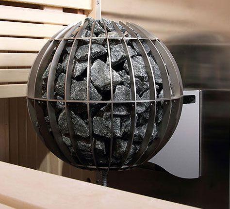 Harvia globe sauna heater