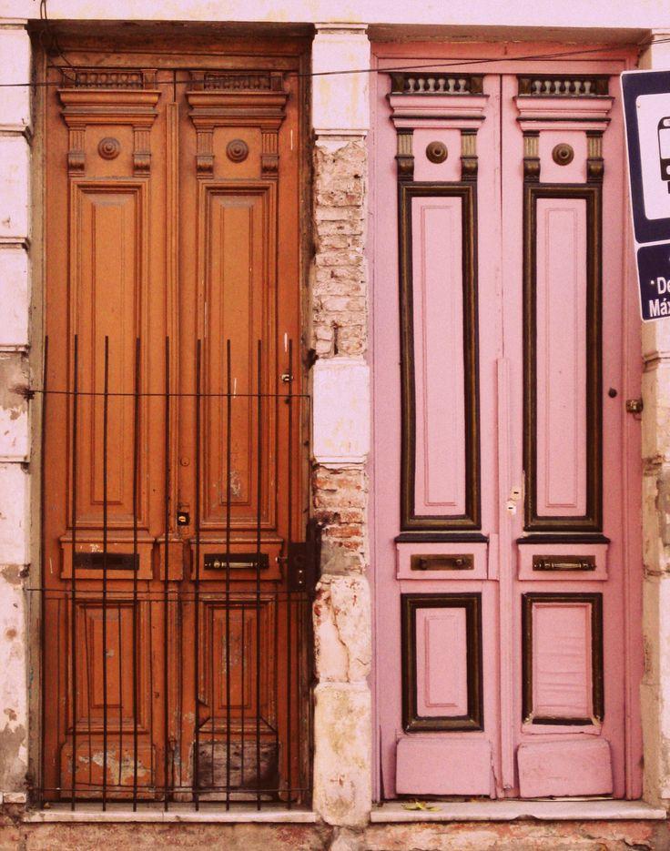 Puertas, Madera, Buenos Aires  colores Rosa