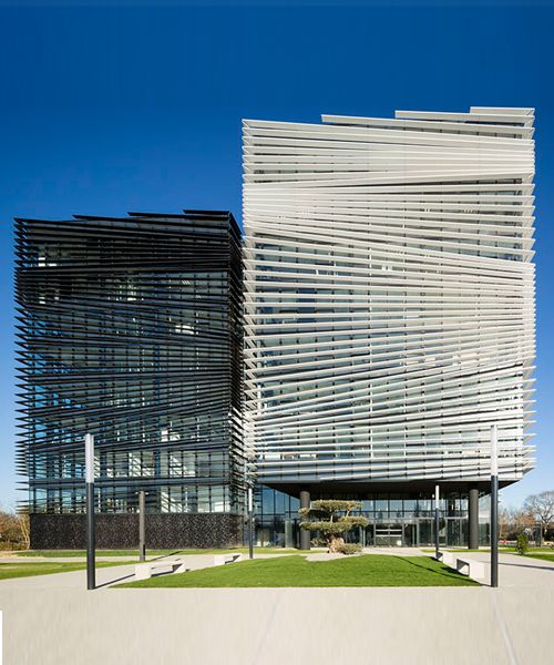 138 best office building images on Pinterest Facades, Facade and - calcul surface facade maison