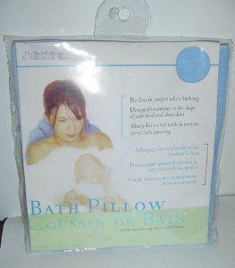 Inflatable Blue Bath Pillow Cushion Suction Cups by The Bath Collection. $15.95. Blue inflatable Bath Pillow. 16 x 11.5 inches.