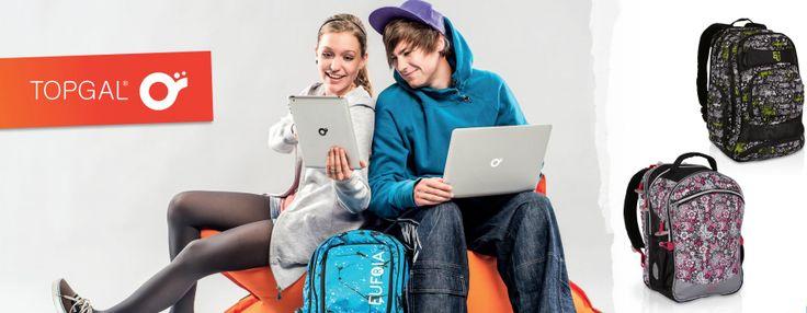 Plecaki młodzieżowe nie muszą być nudne- zobacz plecaki Topgal i dobierz coś do swojego stylu.