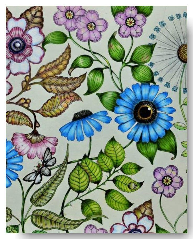 Jardim Secreto: 5 Técnicas de Pintura - The Miscellaneous Post
