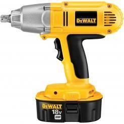 "DeWalt DW059K-2 18V 1/2"""" Cordless Impact Wrench Kit"