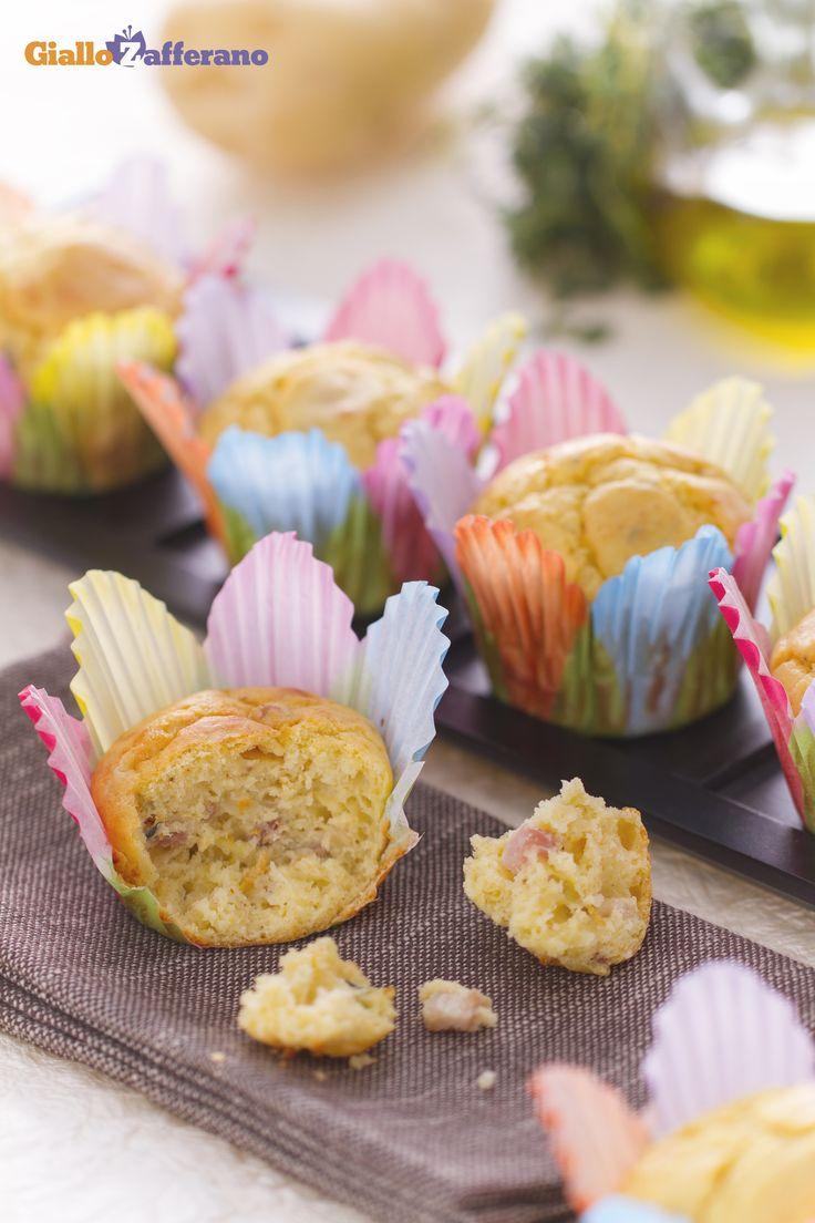Sorprendete i vostri ospiti per il #Thanksgivingday con i #muffin di patate (potato muffins)! #thanksgiving http://speciali.giallozafferano.it/buon-appetito-america