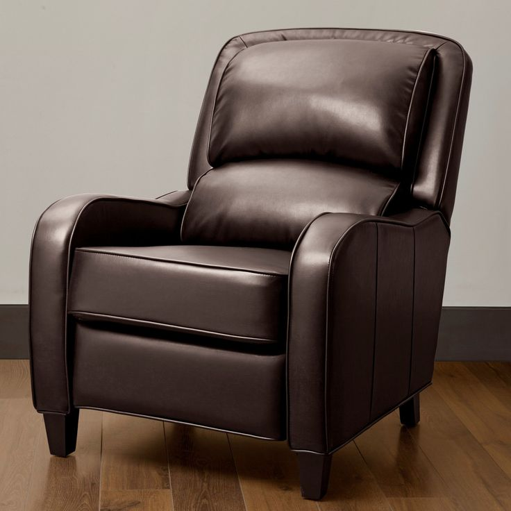 best living room chair%0A Filmore Brown Bonded Leather Recliner   Overstock com Shopping  The Best  Deals on Recliners