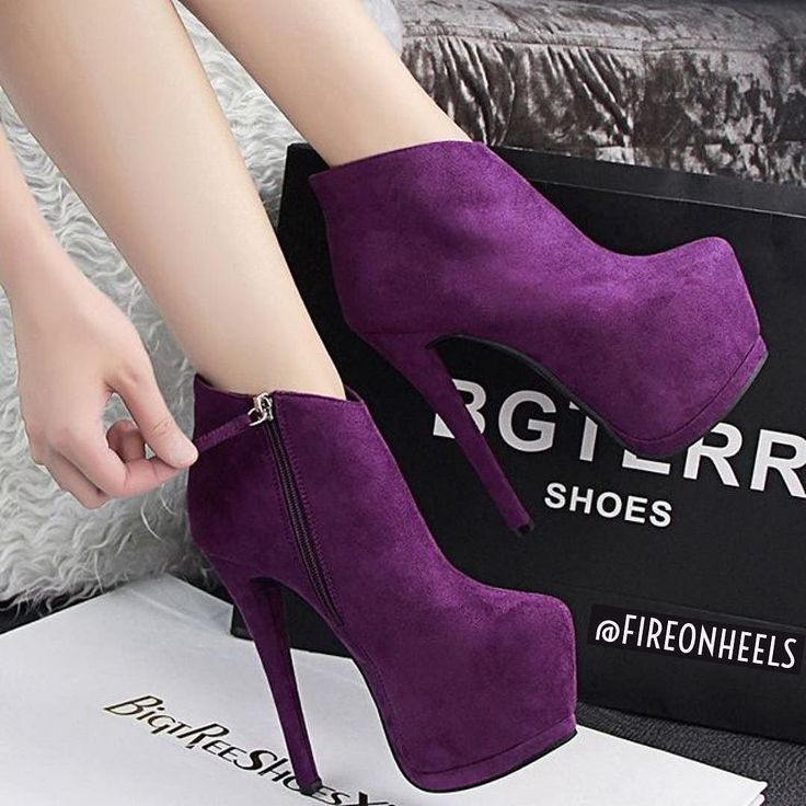 Ladies! Hot or Not? Violett Boot Heels