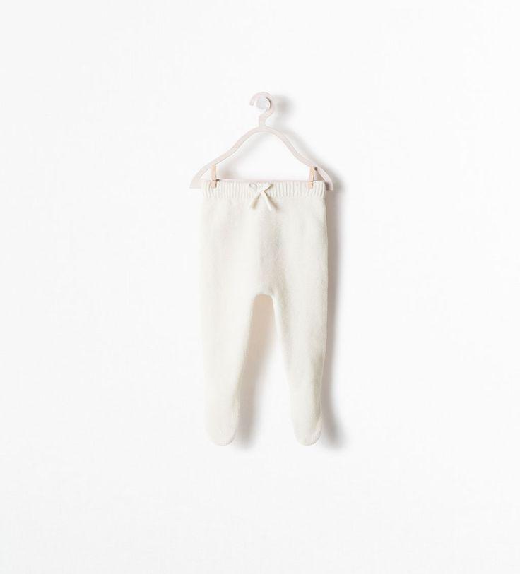 Image 1 de PANTALON MAILLE AVEC LIEN de Zara