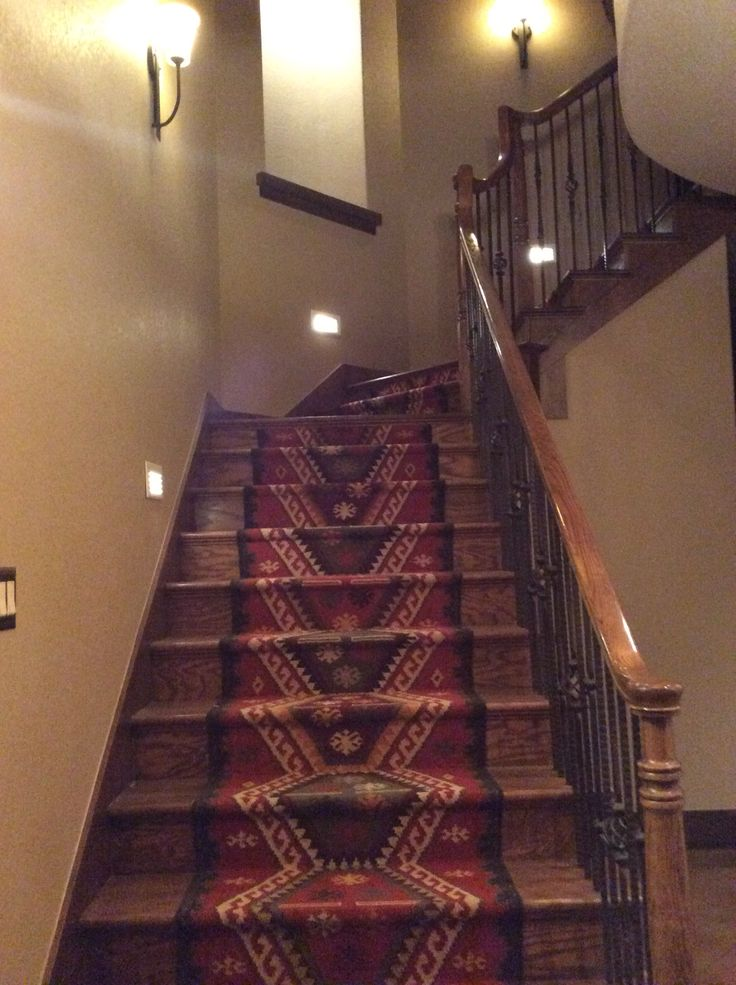 Stair Runner Made From Kilim Runners Purchased At World