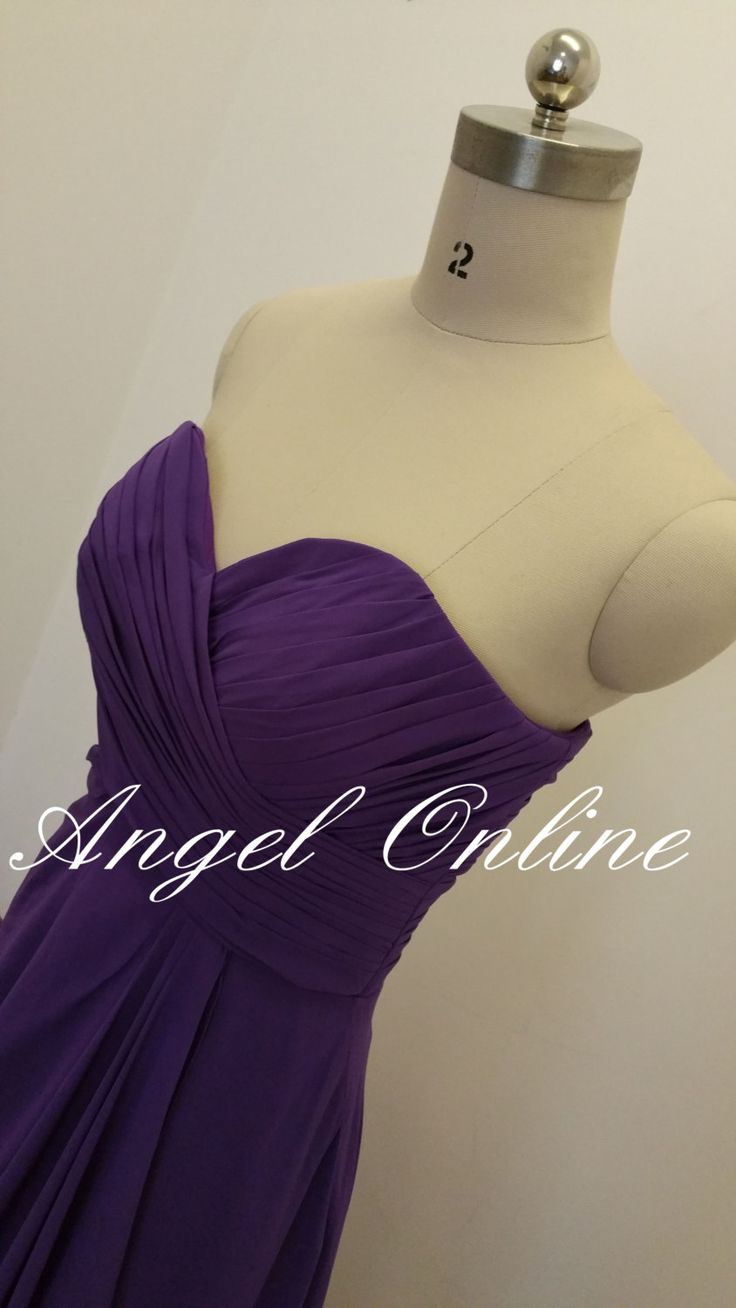 Best 25 strapless bridesmaid dress long ideas on pinterest long bridesmaid dress under 100 by angelonlinedress on etsy ombrellifo Image collections