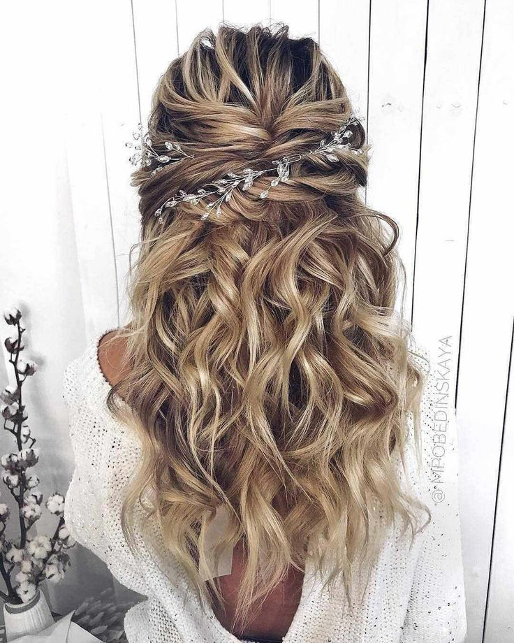Top 40 Best Wedding Hairstyles For Long Hair 2019 -  # - Hairstyles - Hairstyles 2019 #longhair