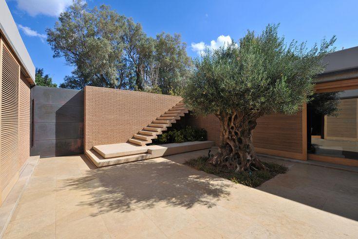 13 Stunning Inner Courtyards,Residencia en Legrena / Thymio Papayannis and Associates . Image © Charalampos Louizidis