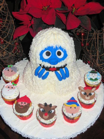 Bumble Snowman | Bumble the Abominable Snowman and Friends! - by Ellie1985 @ CakesDecor ...