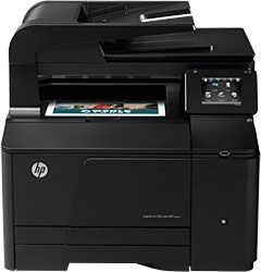 #HP laser printer that can do multi functions such as print, scan, fax etc.