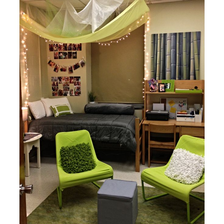 Decorating Ideas > Pin By Paige Benjamin On Dorm Inspiration  Pinterest ~ 003811_Green Dorm Room Ideas