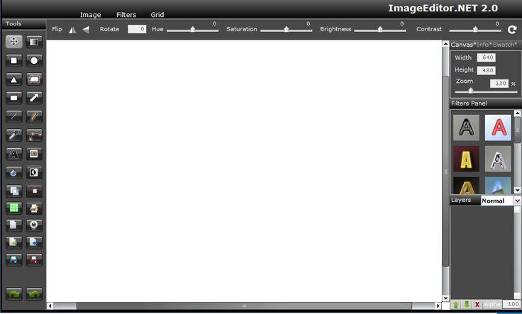 Grafic World: Image editor free online