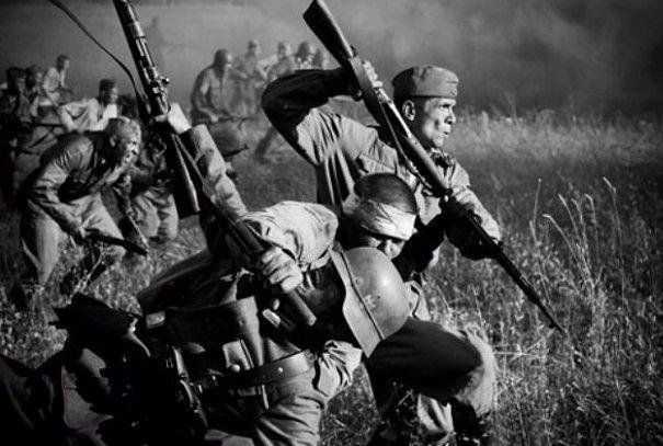 Как советские солдаты ходили в рукопашную на Великой Отечественной? | Русская семерка