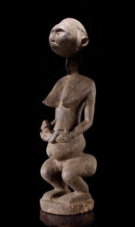 A Bamana Maternity of Dokamissa (initiation society of the women and mythical figure of the Bamana people, probably similar like Jo and Gwan)