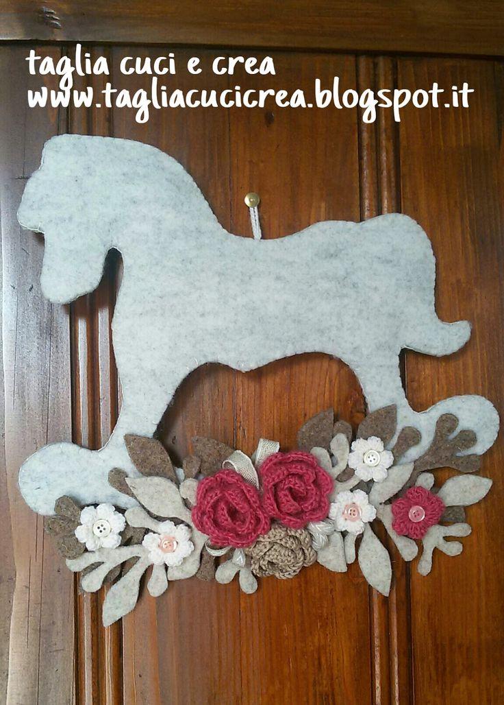 Taglia cuci e crea: Cavallo a dondolo