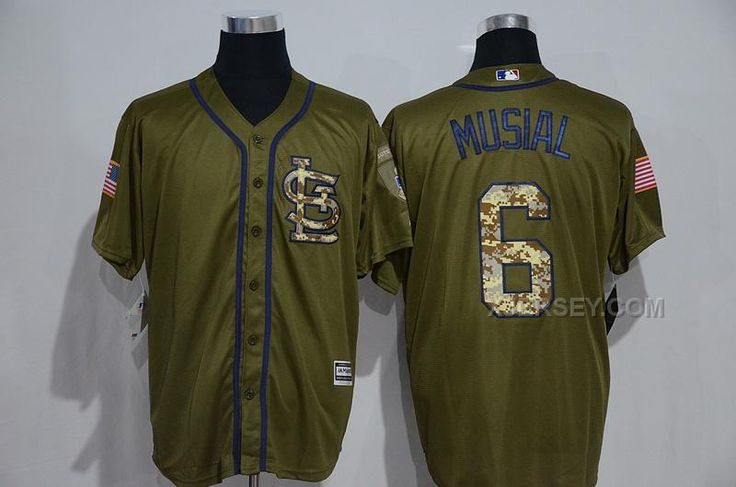 http://www.xjersey.com/cardinals-6-stan-musial-olive-green-new-cool-base-jersey.html CARDINALS 6 STAN MUSIAL OLIVE GREEN NEW COOL BASE JERSEY Only $35.00 , Free Shipping!