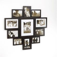Umbra Huddle Fotolijst 69 x 71 cm - Espresso