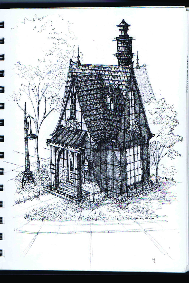 Gothic House Plan - Google Search