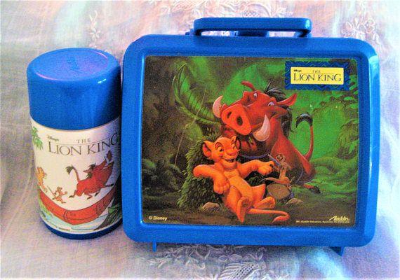 Disney's Lion King Lunch Box & Thermos Set Aladdin