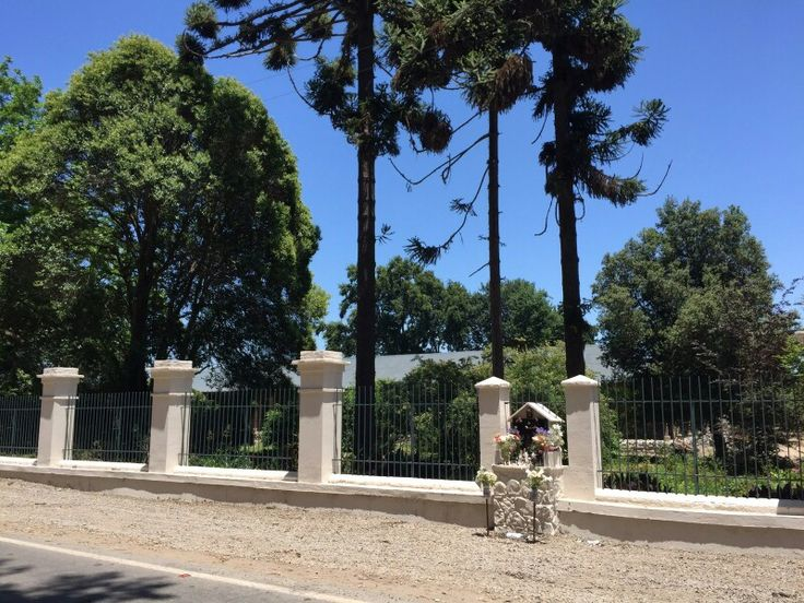 Entrada/ pilares / restoration