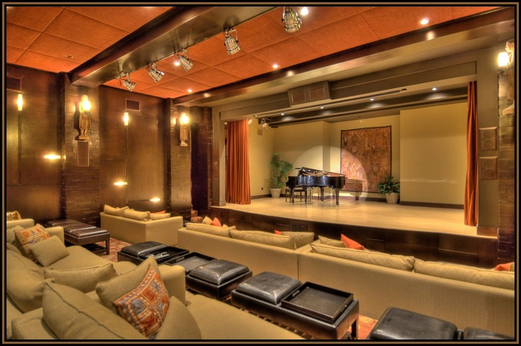 WOW... What a Great Home Theater  #lifestyle #hometheater #marketing #dream