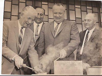 CLIFFORD RISHELL PRESS PHOTO OAKLAND MAYOR NAHAS JOHN LYNCH VINTAGE 1960S 1960