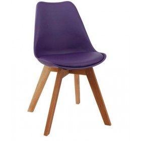 Quadre Design Krzesło Jerry fioletowe