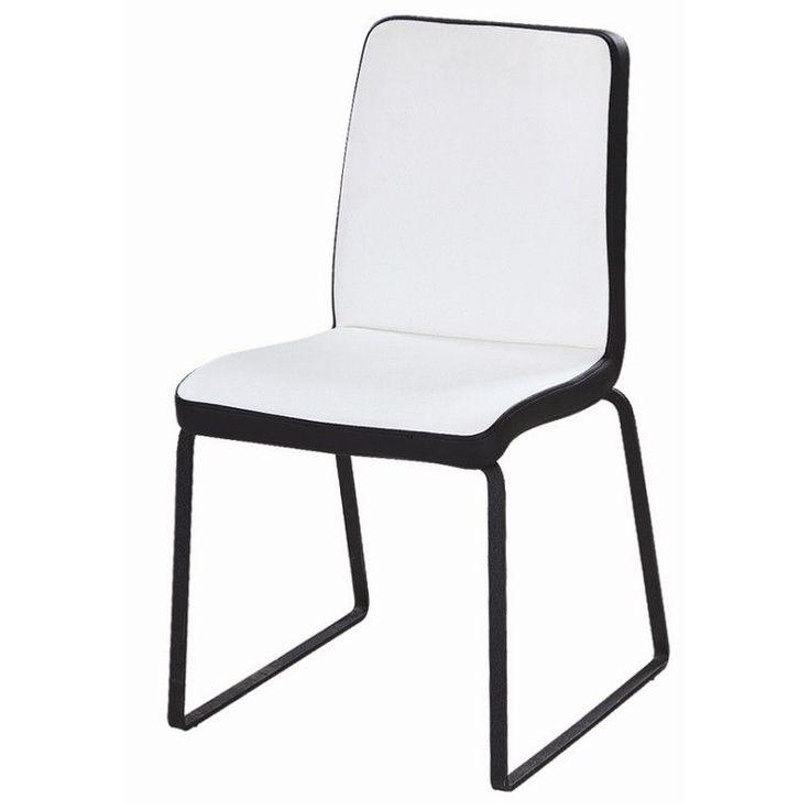 1000 id es sur le th me chaises blanches sur pinterest - Chaises blanches simili cuir ...