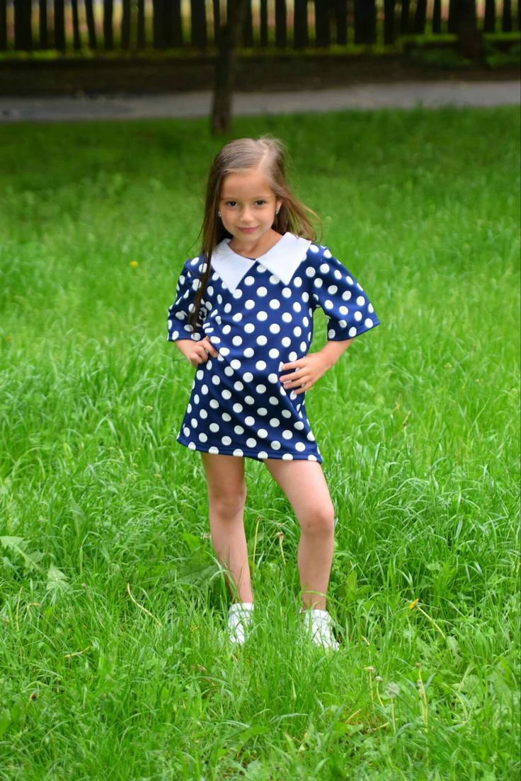 Pöttyös kislány ruha www.minniemes.com