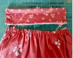 Tutoriel couture : la petite jupe en jersey bio, easy et sans patron