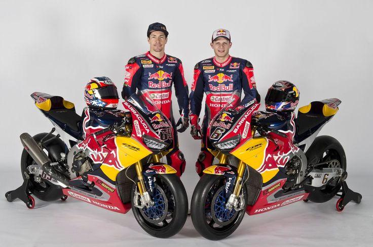 New Honda CBR 1000RR Fireblade SP2 - #WorldSBK 2017 - Nicky Hayden and Stefan Bradl - Nicky Merchandising > http://www.gpracingapparels.com/en/nicky-hayden/