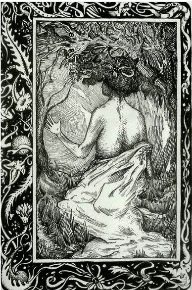 Pen & Ink drawing inspired by Franklin Booth