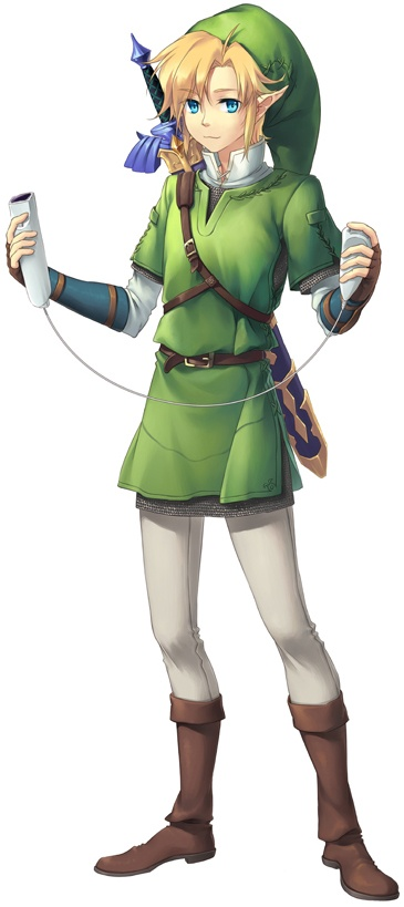 Link's new weapon (from Zelda: Twilight Princess and Zelda: Skyward Sword) #Wii #Wiimote