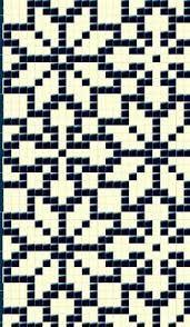 Bildergebnis für mosaic knitting charts
