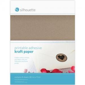 Potisknutelný dřevovláknitý papír (lepící)