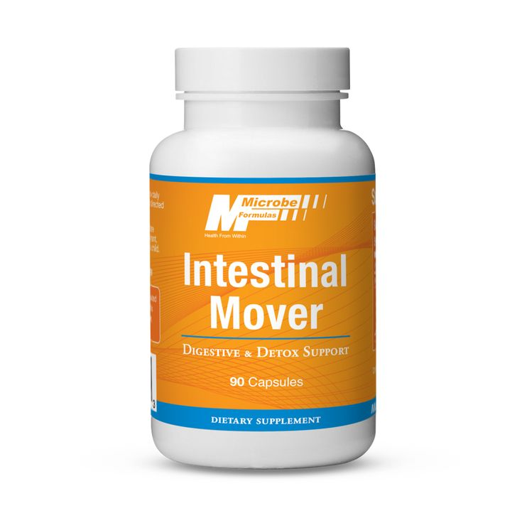 Intestinal Mover: Digestive & Detox Support