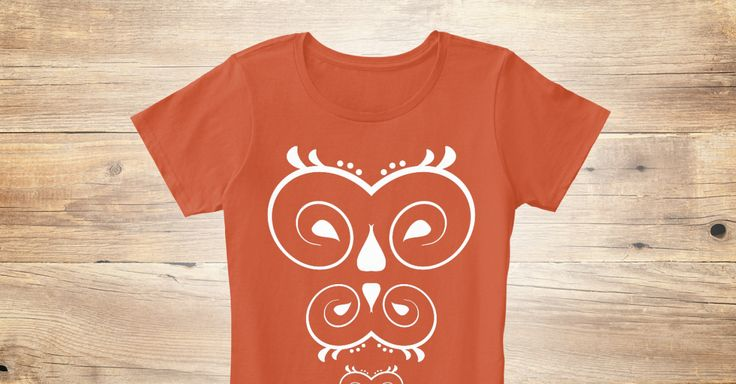 Well owl be damned ! Look at this cute art nouveau inspired print with owl motif. What a hoot !