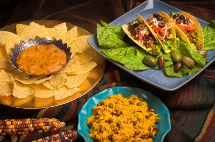 17 best images about taco bar team dinner on pinterest for Food bar recipes