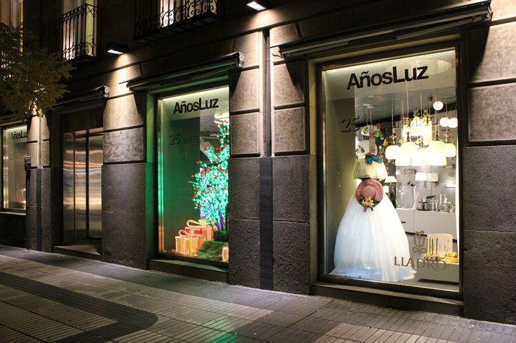 Escaparate navideño 2015/2016 en Showroom de la Calle Alcalá 111