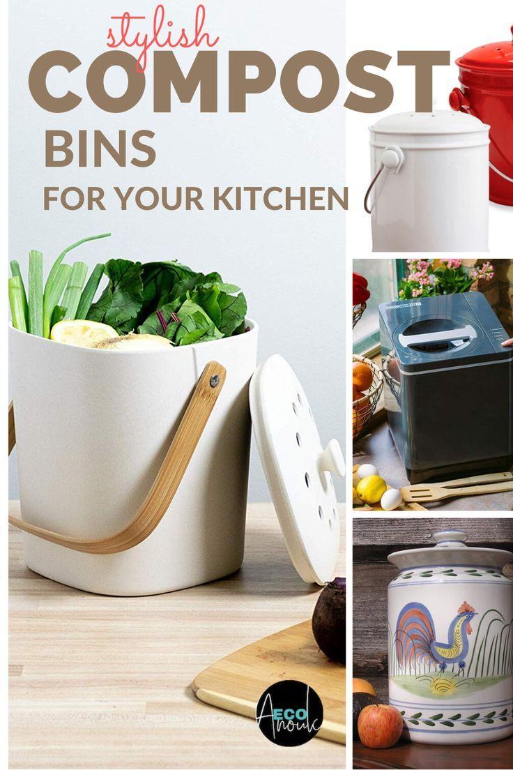 the best compost bins for a zero waste kitchen eco anouk in 2020 zero waste kitchen best on zero waste kitchen interior id=98439