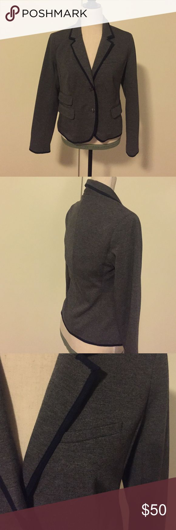 Gap outlet blazer Gap outlet blazer. Worn only once. Size 4. Very soft, beautiful blazer. Goes very cute with jeans. Pretty warm for fall.  Lined. Gap Outlet  Jackets & Coats Blazers