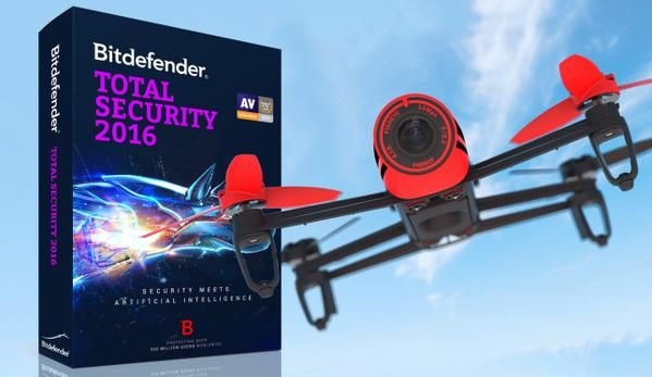MakeUseOf has teamed up with Bitdefender to bring you a giveaway for a $900 Parrot Bebop Quadcopter and 10 licenses for Bitdefender Total Security 2016. #giveaway #quadcopter #drone #antivirus #bitdifender