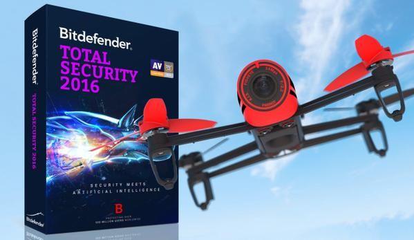 MakeUseOf has teamed up with Bitdefender to bring you a giveaway for a $900 Parrot Bebop Quadcopter and 10 licenses for Bitdefender Total Security 2016. #giveaway #quadcopter #drone #antivirus #bitdifender