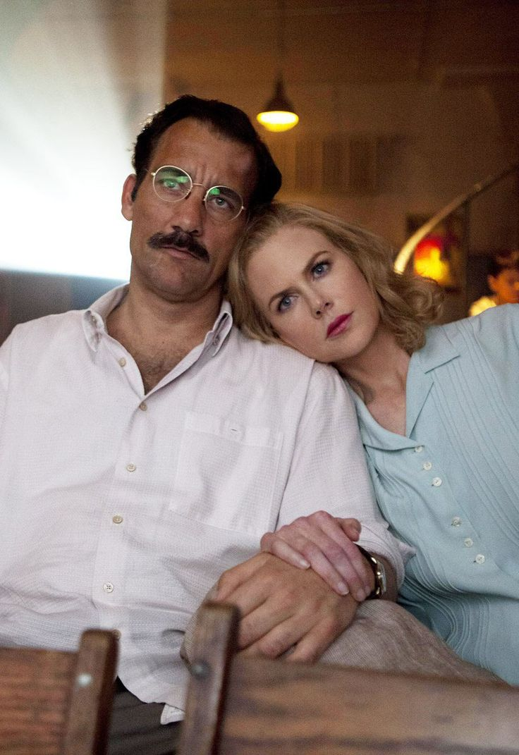 "Clive Owen y NIcole Kidman en ""Hemingway & Gellhorn"", 2012"